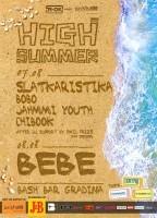 HIGH SUMMER 2014 BASH BAR