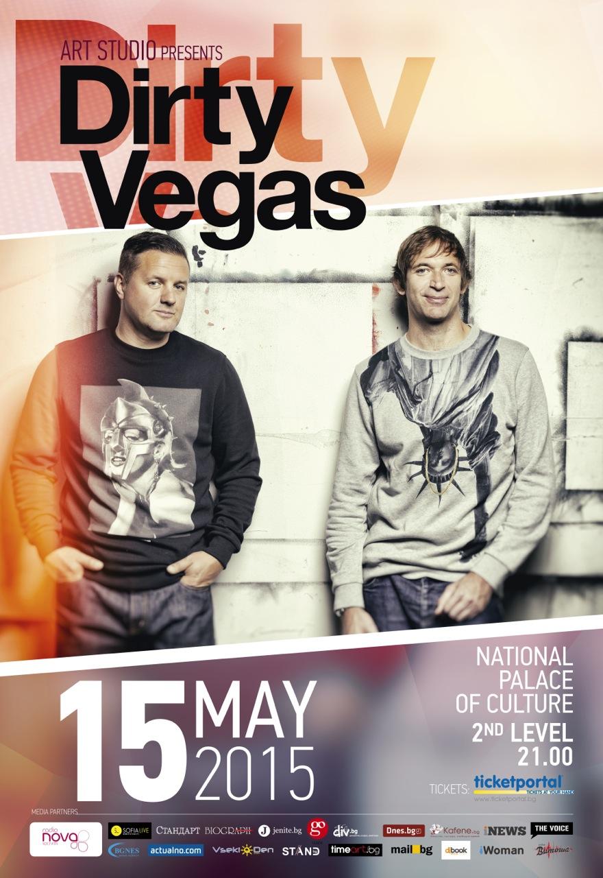 Poster Dirty Vegas 70x100